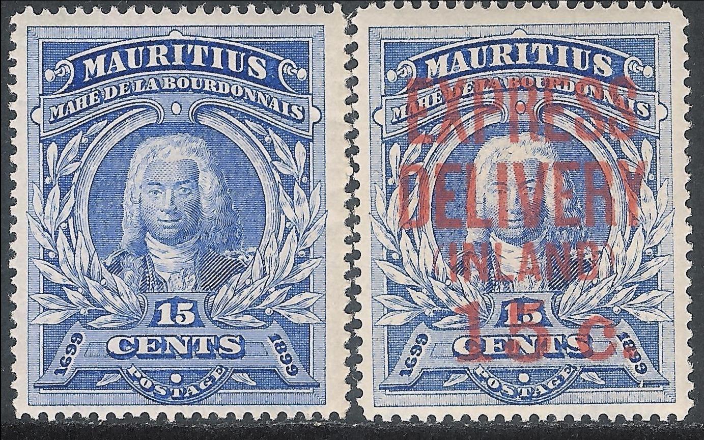 1899 Bicentenenary Labourdonnais