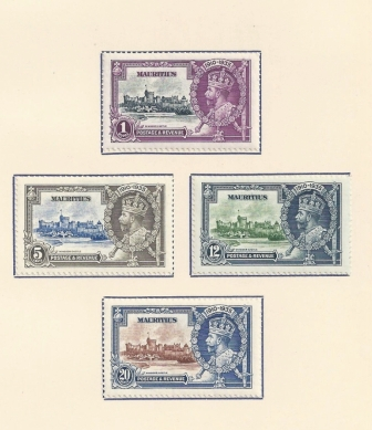 1935 postage and revenue George V