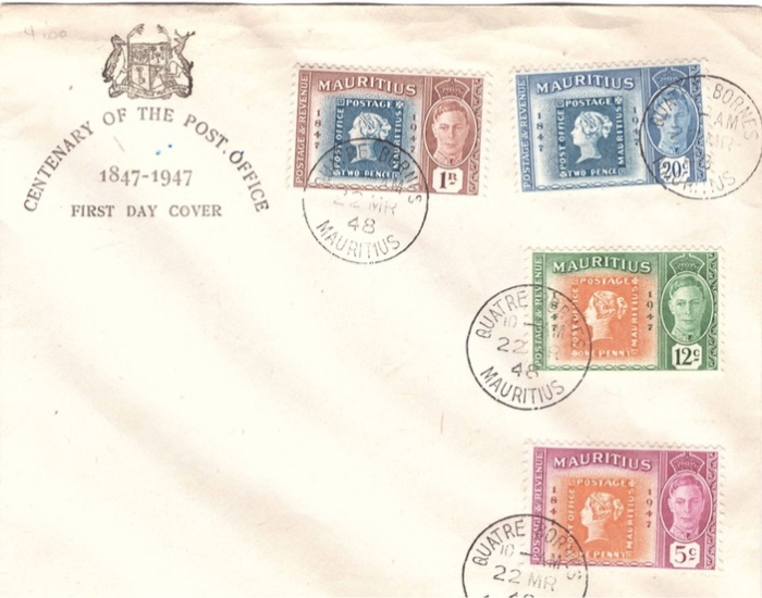 1948 centenary of the post office FDC