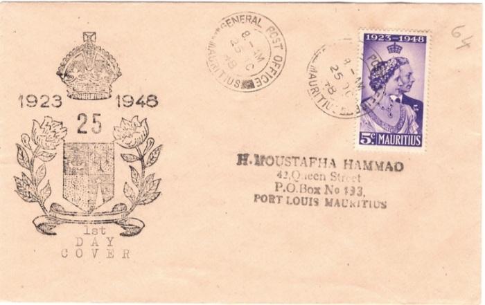 1948 King George VI silver wedding 25 Oct
