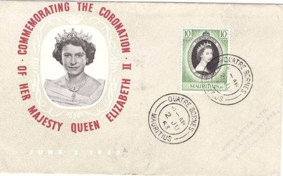 1953 Coronation FDC