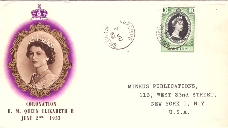1953 Coronation special envelope_2