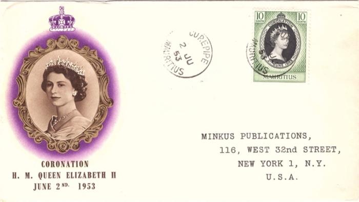 1953 Coronation special envelope_2