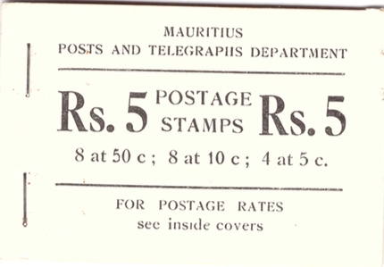 1953 Postage booklet