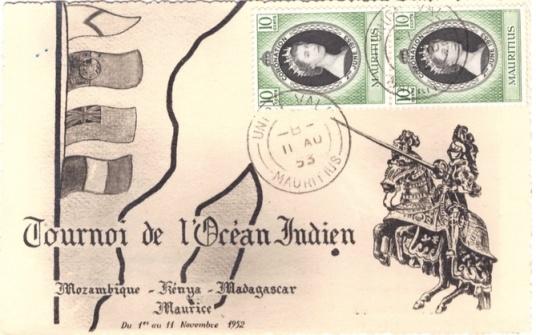 1953 Tournoi de l'ocean indien coronation