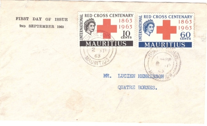 1963 Redcross centenary