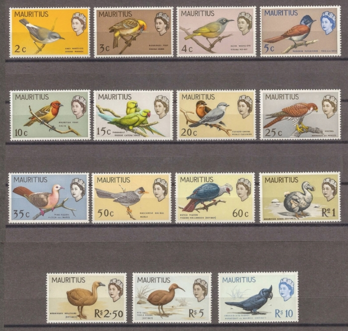 1965 - 16 March - Birds definitive series