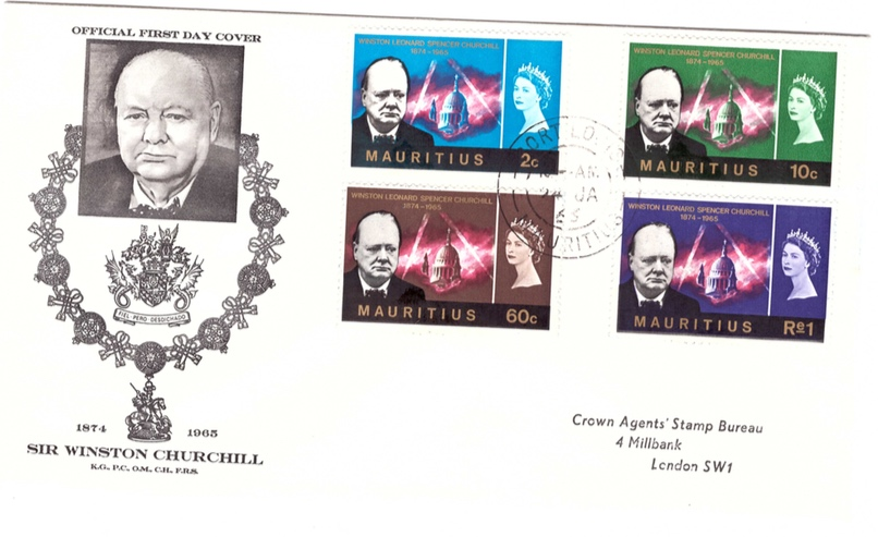 1965 Churchill Special Cover