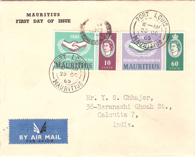 1965 International Cooperation Yr Oct