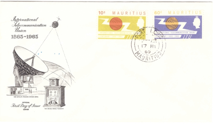 1965 International Telecoms Union FDC