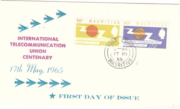 1965 ITU special cover
