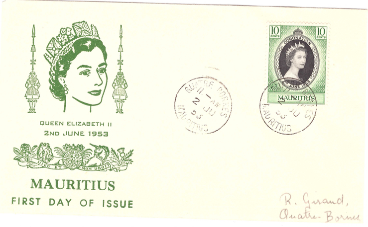 1965 QEII Coronation special cover