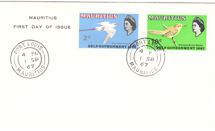 1967 Bird issue self Gov FDC Sep