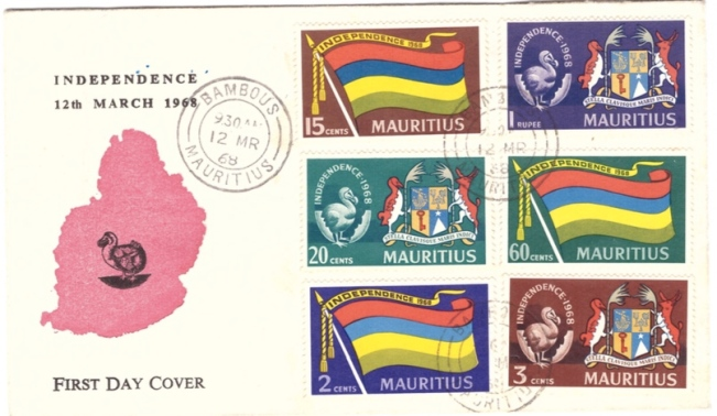 1968 Independence FDC
