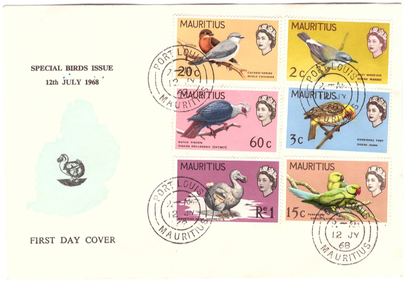 1968 Special bird issue FDC