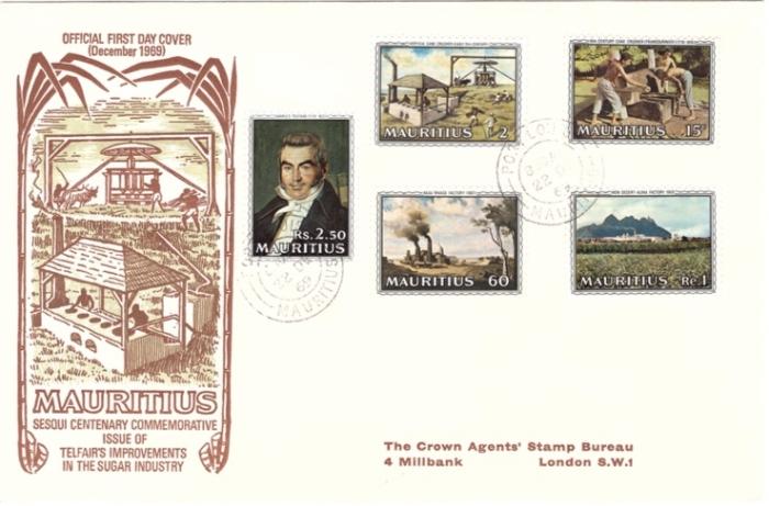 1969 Annivero f sugar industry special cover