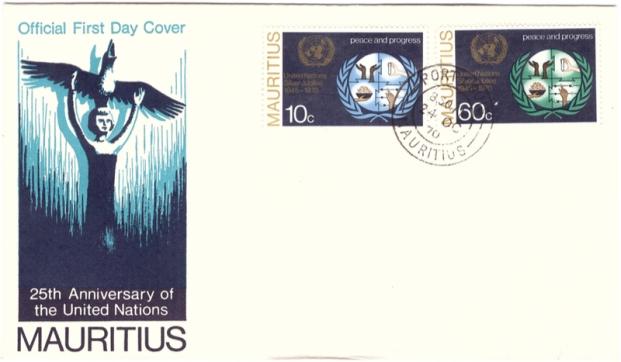 1970 - 25 Anniv of UN