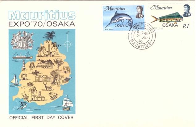 https stampsofmauritius files com 2017 07 1970 7 april expo