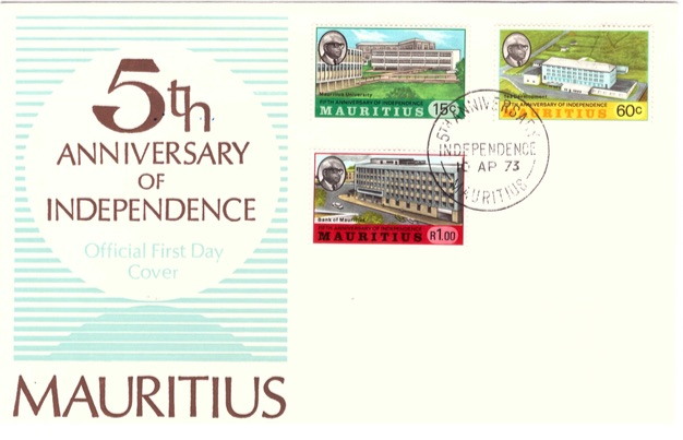1973 10 April - 5th anniversary of independence