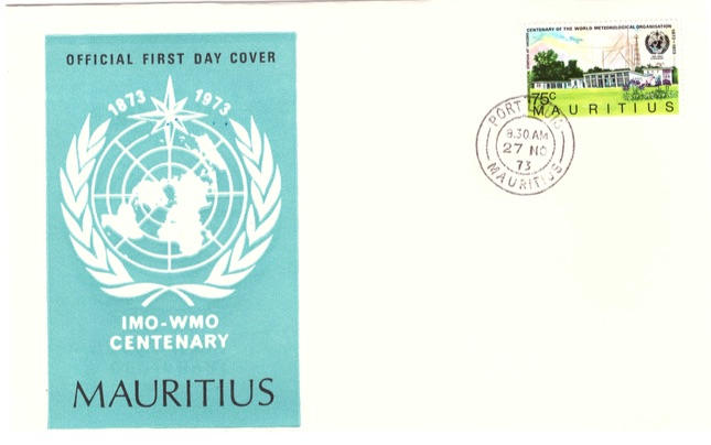 1973 27 Nov - Centenary of IMO - WMO