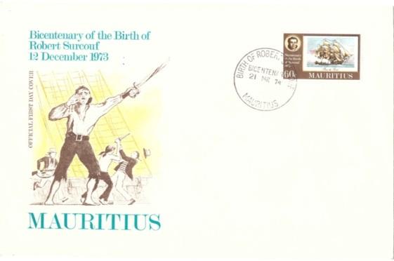1974 21 March - 200th birth of Surcouf