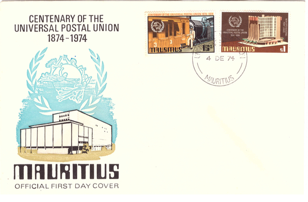 1974 4 Dec - 100th Universal postal union