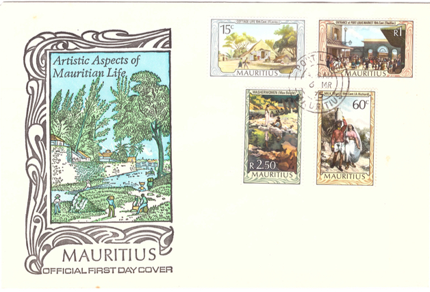 1975 6 March - Artistic aspects of Mauritian life