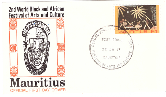 1977 30 Jan - 2nd world black and african festival of arts and culture