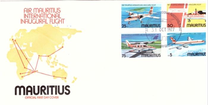 1977 31 oct - Air Mauritius inaugural flight