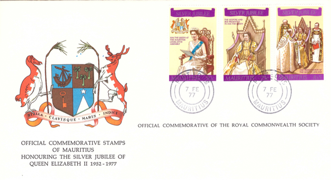 1977 7 Feb - Silver jubilee coronation Westminster collection