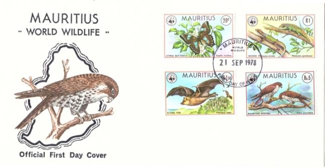 1978 21 Sep - Mauritius wild life OFC