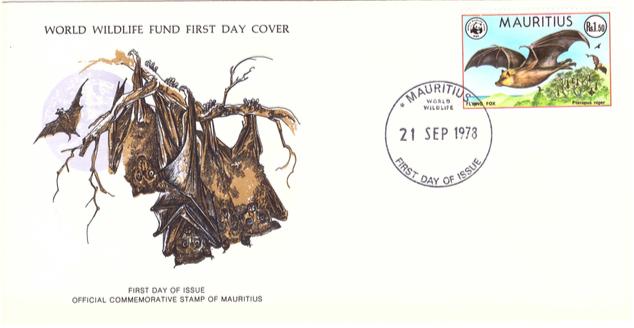 1978 21 Sep - Mauritius wild life SC3