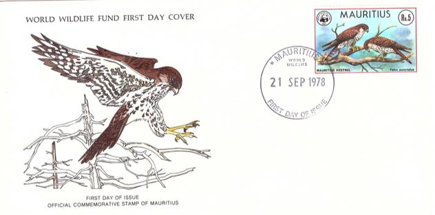 1978 21 Sep - Mauritius wild life SC4