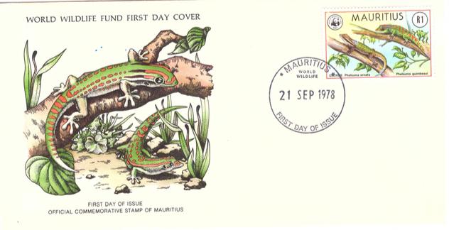 1978 21 Sep - Mauritius world wilf life SC2