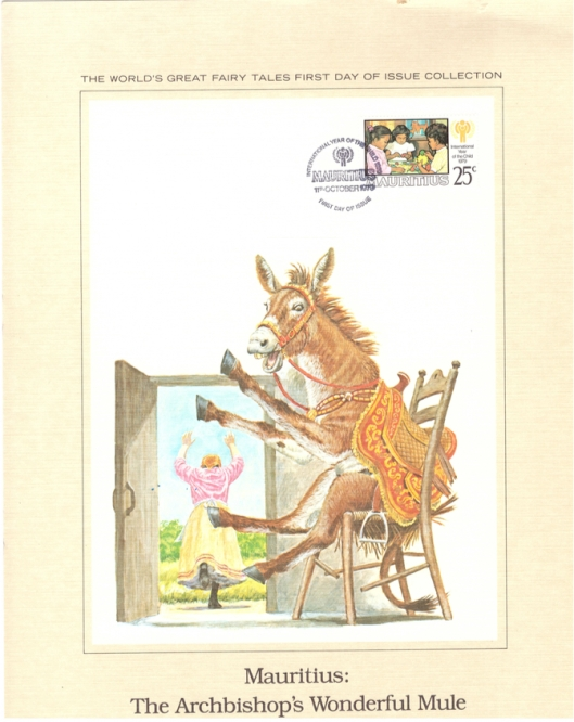 1979 11 Oct - international year of the child - archbishop mule issue