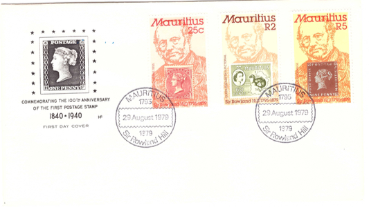 1979 29 Aug - Sir Rowland Hill Commemorative cover