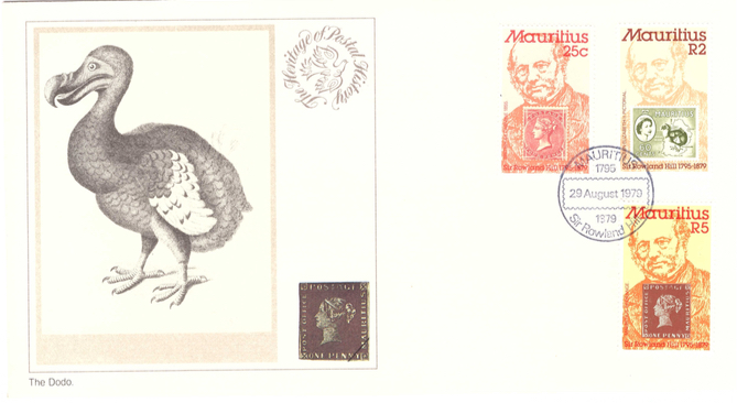 1979 29 Aug - Sir Rowland Hill - Heritage postal collection