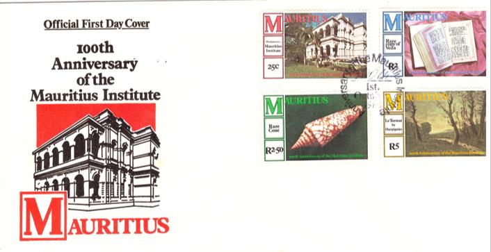 1980 1 Oct - 100 Anniversary of Mauritius institute OFC