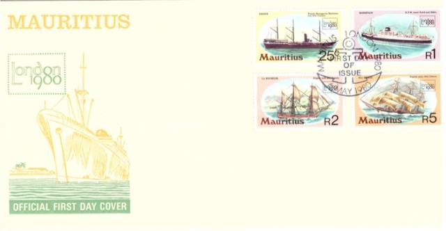 1980 6 May London 1980 ships