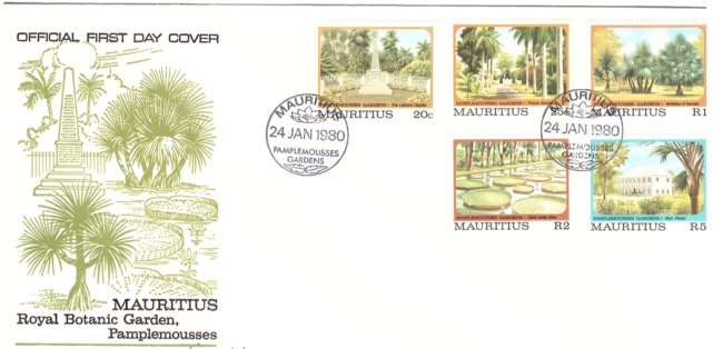 1980 Pamplemousses FDC
