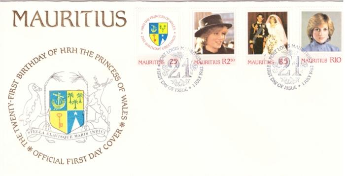 1982 1 July - 21st birthday Diana OFC