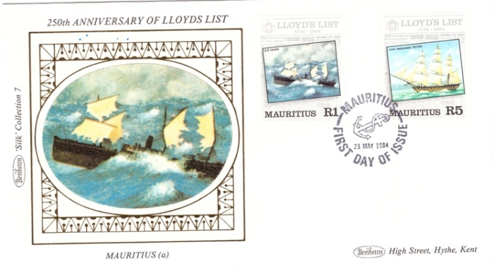 1983 23 May - Lloyd's list Bentham silk 1