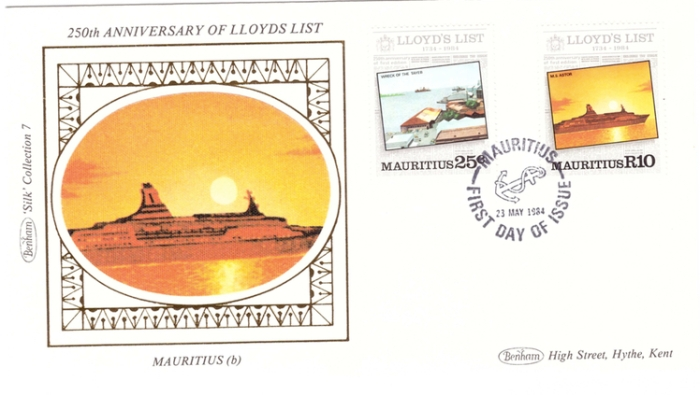 1984 23 May - Lloyd list Bentham silk collection 2