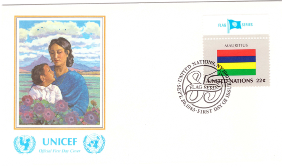 1985 20 Sep - Flag series UN_1