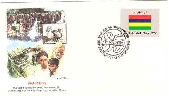 1985 20 Sep - Flag series UN_3
