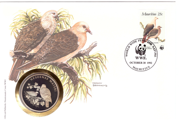 1985 - WWF coin cover (1992)