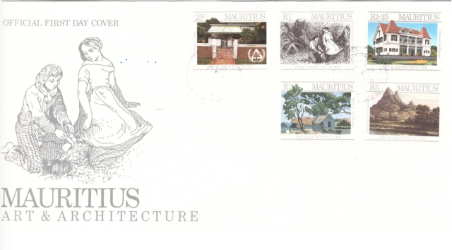 1987 30 Dec - Mauritius Arts and architecture