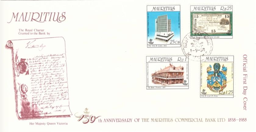 1988 1 Sep - 150th Anniversary MCB
