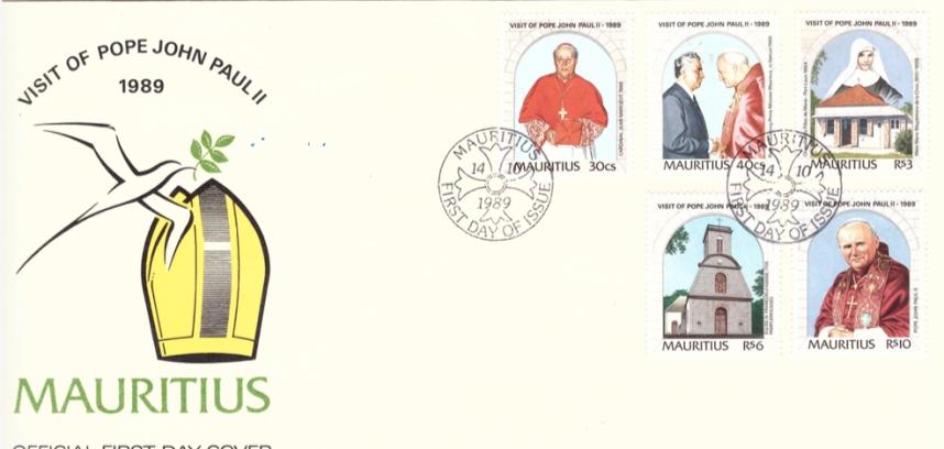 1989 14 Oct - Visit of Pope John Paul II - OFC