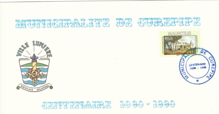1990 - centenaire de la municipalite de Curepipe
